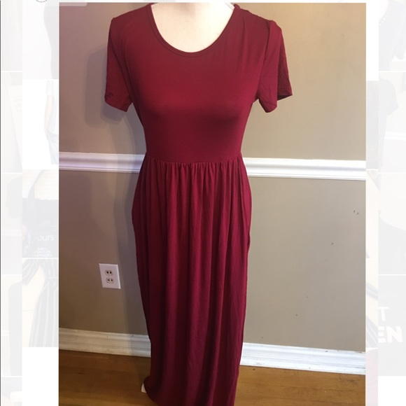 37626d1bfc womens boutique Dresses | Red Maxi With Tags | Poshmark